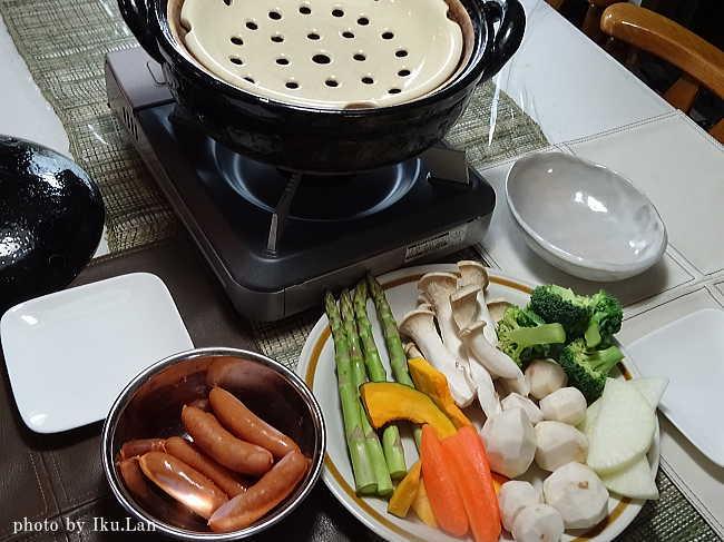 長谷園(ながたにえん)ヘルシー蒸し鍋